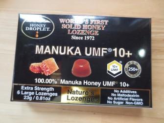 免疫を高める効果はとても期待できます! 喉の痛いときにも マヌカハニーキャンディー ¥1,000+税