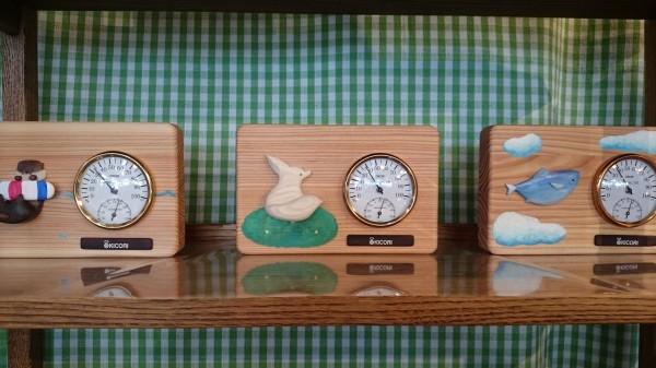 限定1台ずつ入荷!作り手のぬくもりが感じられる温度計。
