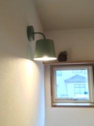 2階トイレのライト。
