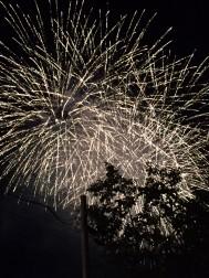 HOUSE & GARDENからみえる花火です!
