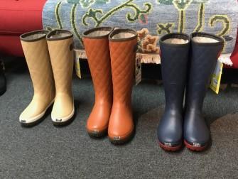 ムーンスターの長靴 サイズS・M・L 共に5,500円税別