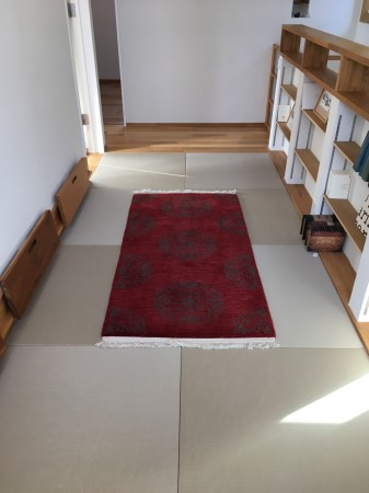 2F廊下の畳コーナー
