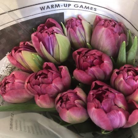 花びらが何重にも重なっている「八重咲き」