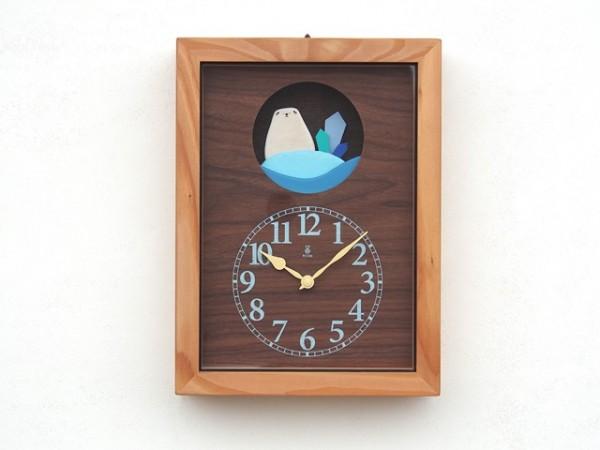 しろくまの旅時計 32,000円(税別)
