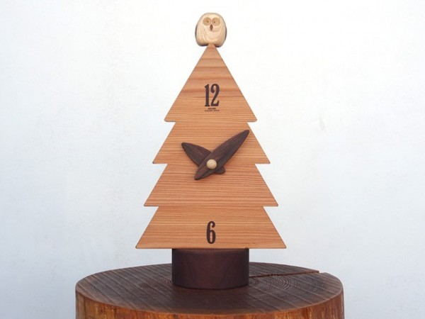 一本木の置時計 25,000(税別)