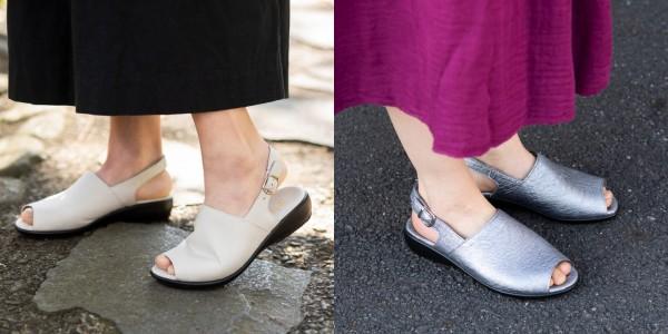 履きやすくて足の甲も綺麗に見えます。