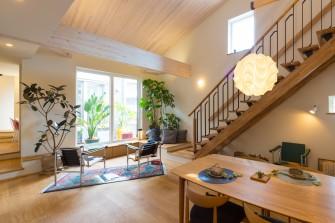 2018年オープン。カヤノの住まいへの提案がたくさん詰まったモデルハウスです。