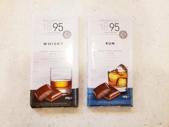 お酒のフィリングがふわっと香る大人な味わい。 ・ウィスキー 300円(税別) ・ラム 300円(税別)
